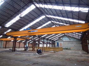 Abus 3,2 + 3,2 ton x 19 950 mm, Conveyors, Overhead Travelling Crane, Jig Cranes