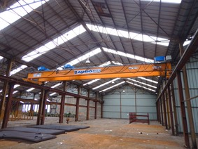 Abus 3,2 + 3,2 ton x 14 000 mm, Conveyors, Overhead Travelling Crane, Jig Cranes