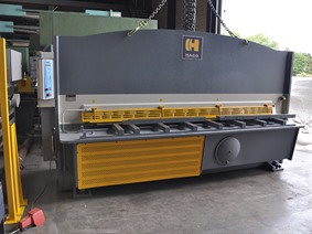 Haco TS 3100 x 12 mm CNC, Hydraulic guillotine shears