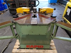Rapid HP 208 corner crimping, Non-ferro machines