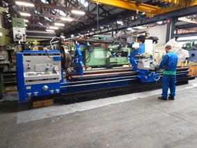 Binns & Berry Trident L1000 Ø 1000 x 5500 mm, Centre lathes
