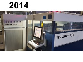 Trumpf TruLaser 3030 3000 x 1500 mm, Laser cutting machines