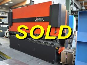 Amada HFB 220 ton x 4100 mm CNC, Hydraulic press brakes