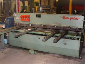 Beyeler C 2550 x 3 mm, Hydraulic guillotine shears