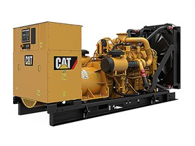 Caterpillar Perkins V8 Generator 450 kVa, Driven assemblies / Compressors