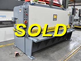 Haco SST 3100 x 10 mm, Hydraulic guillotine shears