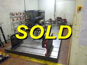 Schenck Fatigue test rig, Tension and pressure testing gauge