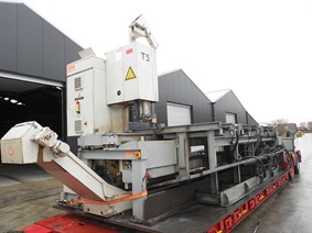 Kasto CNC blocsaw 360 mm thickness, Piły taśmowe