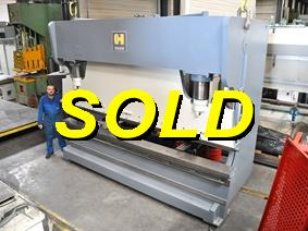 Haco PPES 400 ton x 4100 mm CNC, Hydraulic press brakes