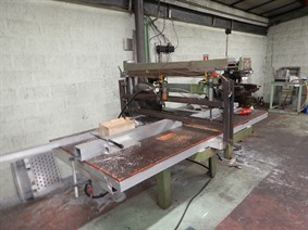 ZM Sandwich panel saw, Cirkelzaagmachines & Doorslijpmachines
