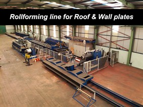Techni Profil Roof & Wall covering, Abwickel- + / oder Profielstrassen