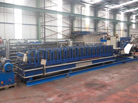 Techni Profil seam profile roll forming line, Decoiling + / or Roll forminglines