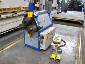 SAF CS70  CNC, Hor+Vert profilemachines, section bending rolls & seam makingmachines