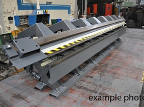 Jorns 8100 x 3 mm, Hydraulic & Mechanical  folding presses