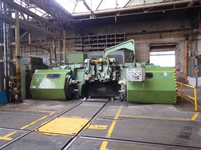 Hegenscheidt MFD 165 portal wheelset lathe, Other turning machines