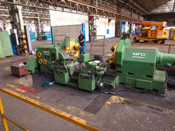 MFD, DRH II 110K train wheel lathe