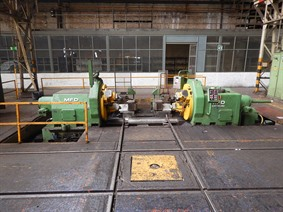 MFD DRH II 110K train wheel lathe, Other turning machines