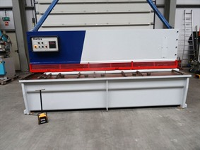 Darley GS 3100 x 8 mm NC, Hydraulic guillotine shears