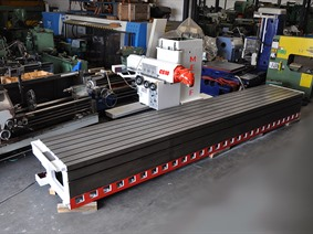 Mecof CS10 X: 5100 - Y: 1200 - Z: 1030 mm, Bed milling machine with moving column & CNC