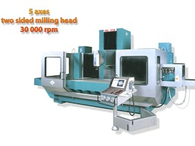 OMV/Parpas HS 316 X: 1600 - Y: 1000 - Z: 800 mm CNC, Bed milling machine with moving column & CNC