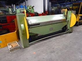 Fasti 2540 x 2 mm NC, Hydraulic & Mechanical  folding presses
