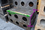 Clamping bloc, 1550 x 600 x 450 mm