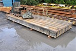 T-slot Table, 7000 x 2500 x 400 mm