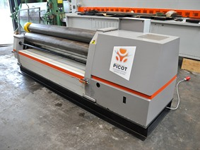 Picot RCS 2100 x 12 mm, Rollenwalsmachines & Platenwalsmachines