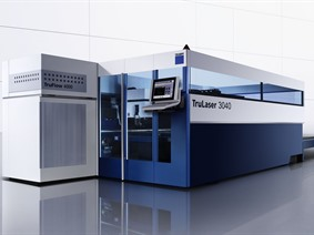 Trumpf TruLaser + LiftMaster 4000 x 2000 mm 4 kW, Laser cutting machines