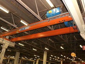 Abus 6,3 ton x 11 250 mm, Conveyors, Overhead Travelling Crane, Jig Cranes
