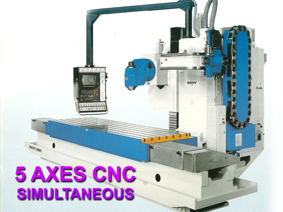 Zayer, X: 2700 - Y: 1200 - Z: 1000 mm CNC
