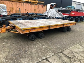 Loading cart 40 ton - 5000 x 2492 mm, Transportmitteln (reinigung - Hubstapler etc)