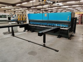 Haco PSX 4100 x 6 mm CNC, Hydraulic guillotine shears