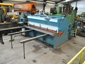 Gasparini 3100 x 8 mm CNC, Hydraulic guillotine shears