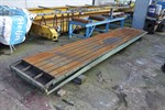 T-slot Table, 5000 x 920 mm