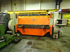 Helmut Lotze 3100 x 9 mm CNC, Hydraulic & Mechanical  folding presses