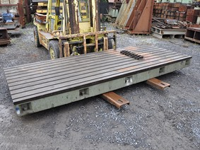 T-slot Table 6000 x 2230 x 400 mm, Tables & Floorplates