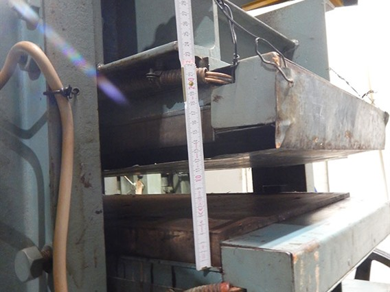 Alexy, heated press 120 ton