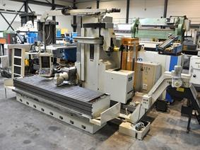 Tiger X: 3023 - Y: 1528 - Z: 800 mm CNC, Bed milling machine with moving column & CNC