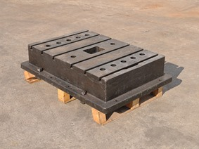 Clamping bloc 865 x 600 x 200 mm, Cubic- & angleplates or tables