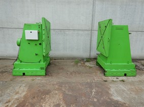 Tehag welding manipulators 12 ton, Turning gears - Positioners - Welding dericks & -pinchtables