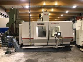 Cincinatti X: 1800 - Y: 850 - Z: 800 mm CNC, Bed milling machine with moving column & CNC