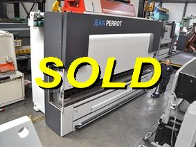 Jean Perrot 250 ton x 4600 mm CNC, Hydraulic press brakes