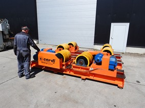 Cerdi Turning gear 120 ton, Turning gears - Positioners - Welding dericks & -pinchtables