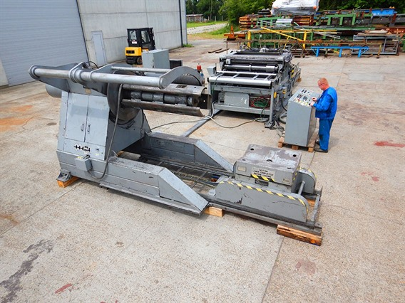 Iowa, Slitting & cut to length 1600 x 3 x 12 ton