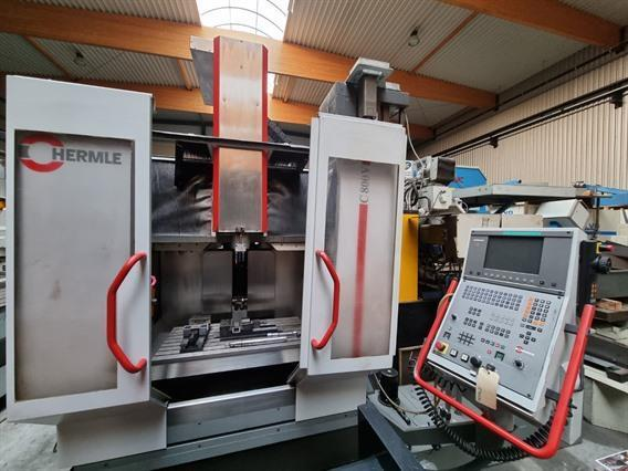 Hermle, X: 800 - Y: 600 - Z: 500 mm CNC
