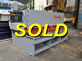 Darley GS 3100 x 16 mm CNC, Cisailles guillotine, hydraulique