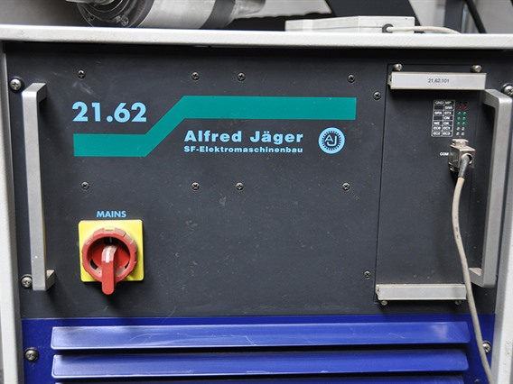 Alfred Jäger, high speed spindle 30 000 rpms