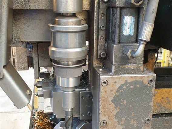 Ficep, P 803 P - CNC drilling and punching line