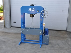 Arlo HP 50 ton, Mobile straightening presses